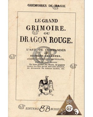 Le grand grimoire ou dragon rouge ( BUSS0160 )