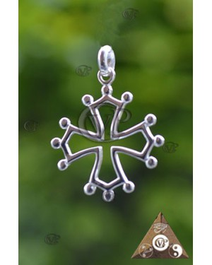 CROIX CATHARE ARGENT