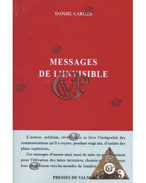 Messages de l'invisible (18€ TTC)